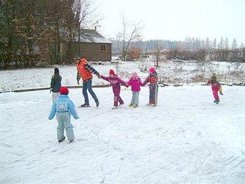 Eislaufen am Ferienparadies Heidehof